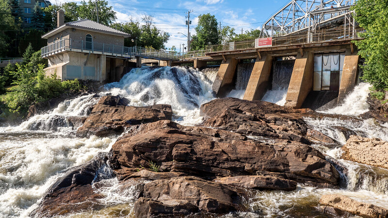 Bracebridge Falls - Waterfalls in Bracebridge Ontario