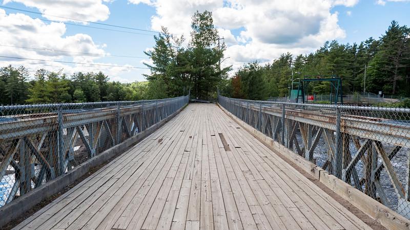 Bridge above High Falls Bracebridge