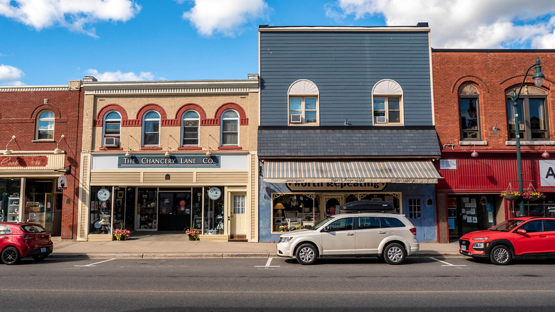 Downtown Bracebridge Ontario