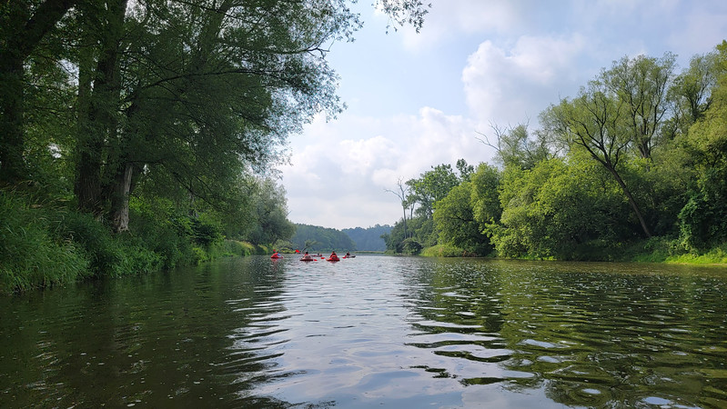 Turbo tubing on the Grand River with Grand River Rafting
