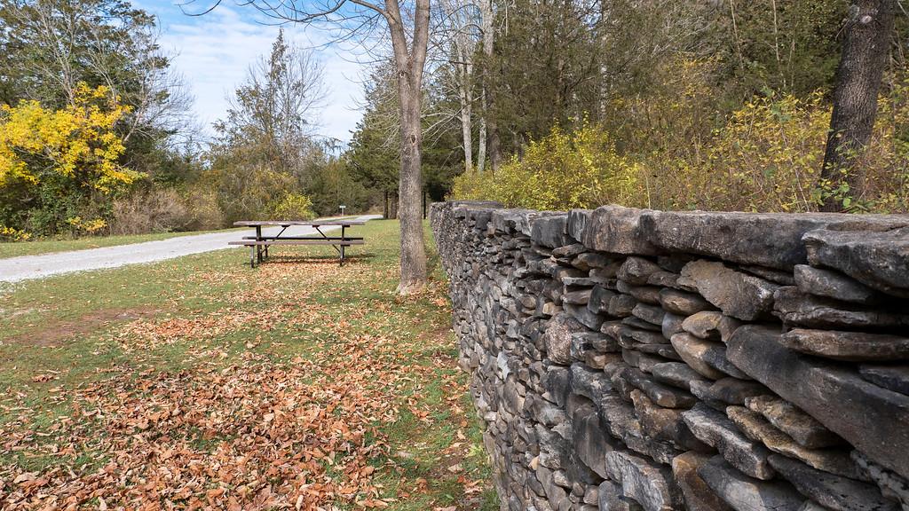 Stone Walls at Ferris Park