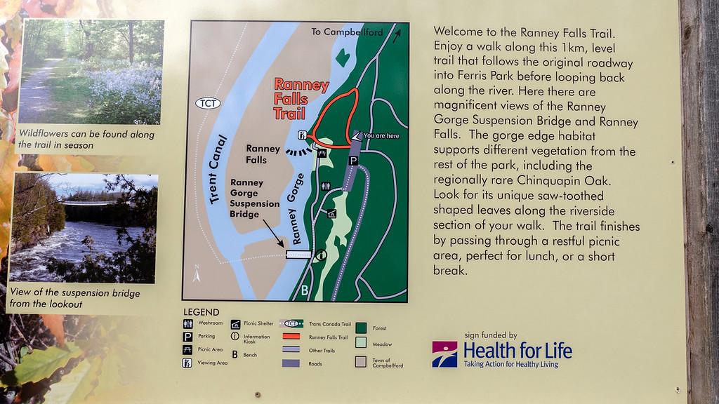 Ranney Falls Trail
