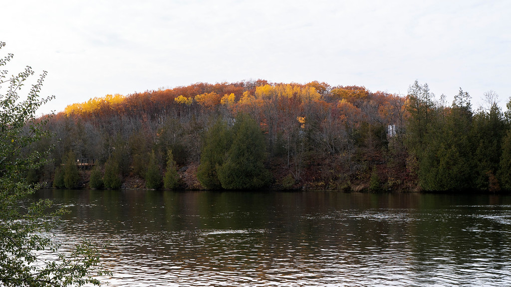 Fall colours at Ferris Provincial Park