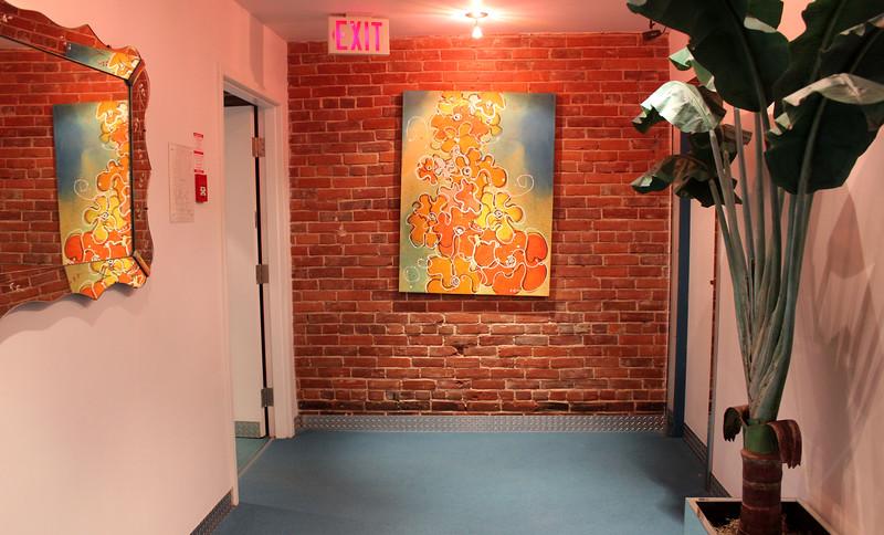Art at the Retro Suites Hotel