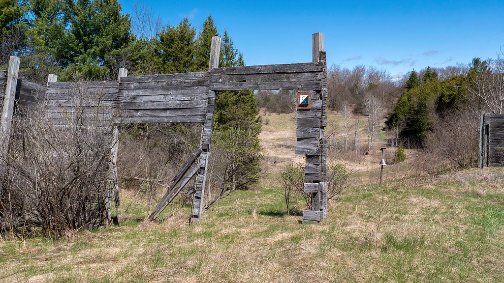 Meadows and old trapping range at Cold Creek
