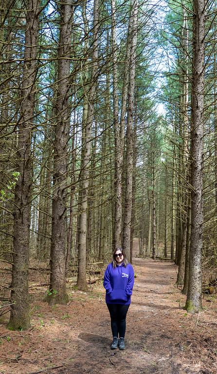 Hiking in Nobleton Ontario, York Region