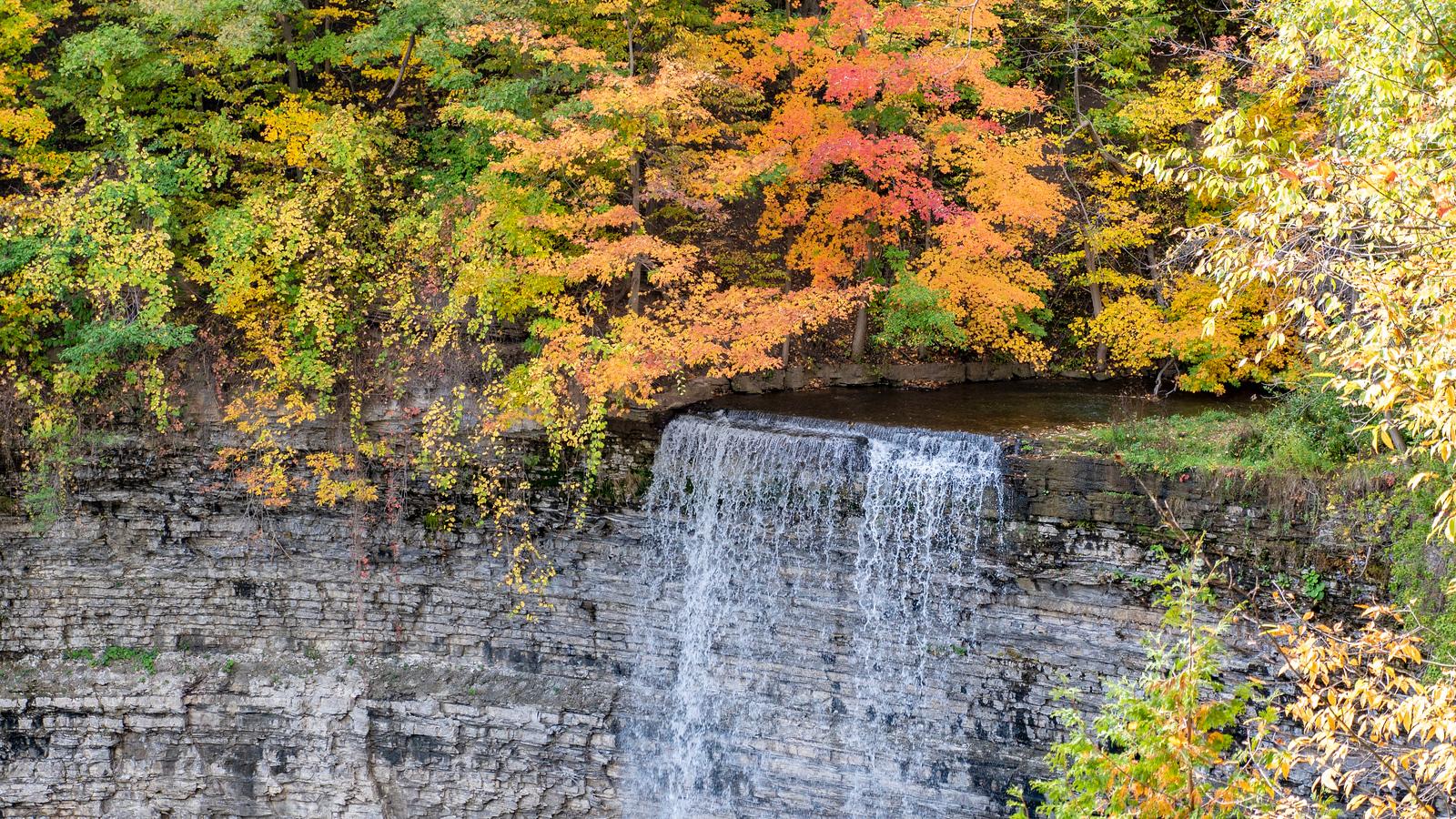 Tews Falls in Dundas Ontario
