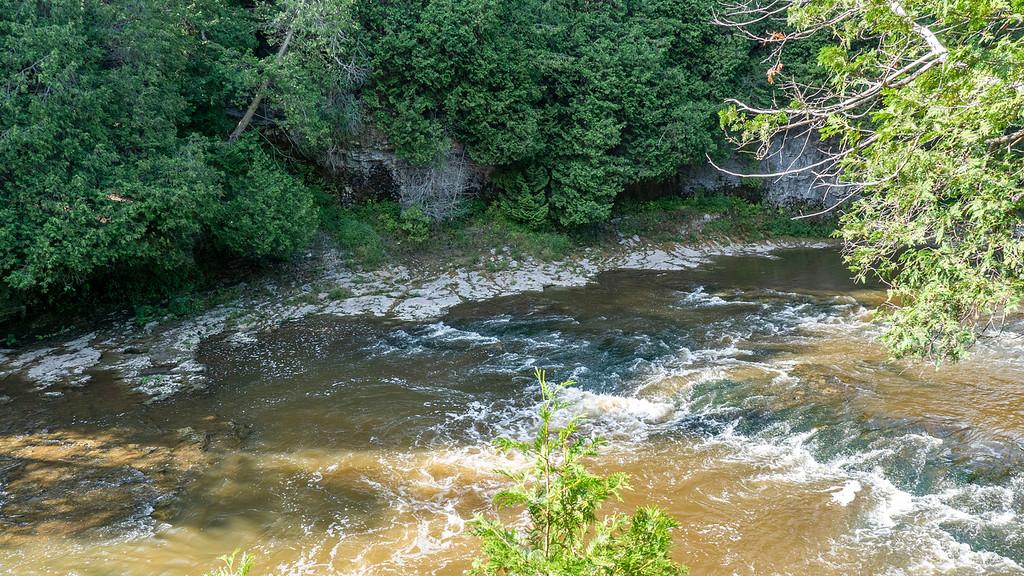 The Grand River in Elora