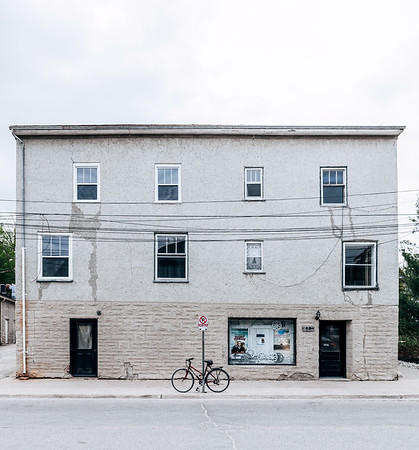 Building in the town of Elora, Ontario.
