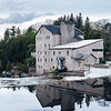 The old mill in the town of Elora, Ontario was built in mid 1800's.
