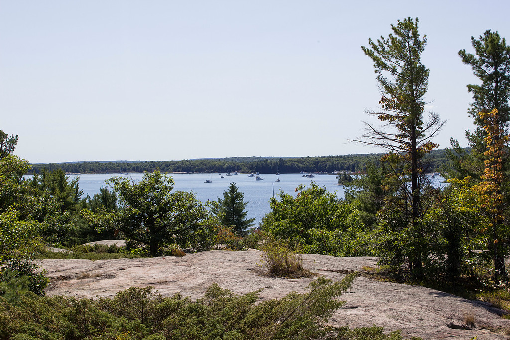 Cambrian Trail with views of Georgian Bay