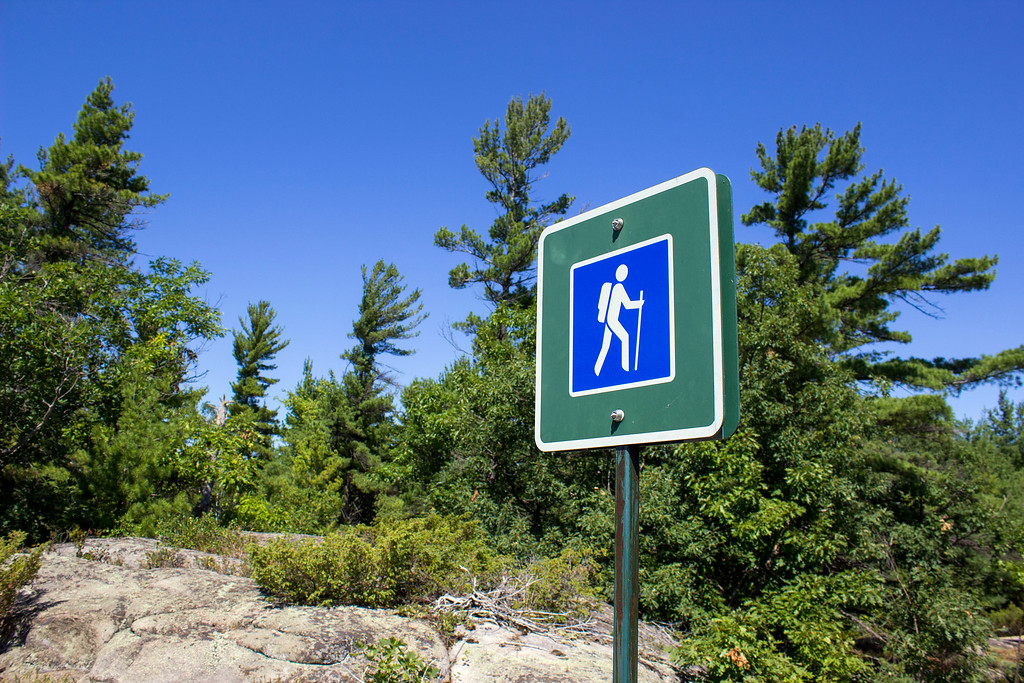 Beausoleil Island Hiking