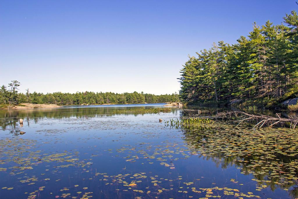 Fairy Lake, Beausoleil Island, Georgian Bay Islands National Park