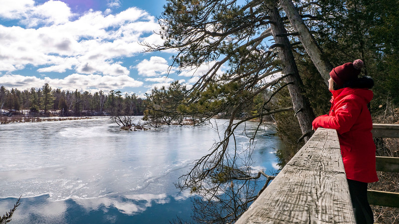 Visiting Pinery Provincial Park in the winter