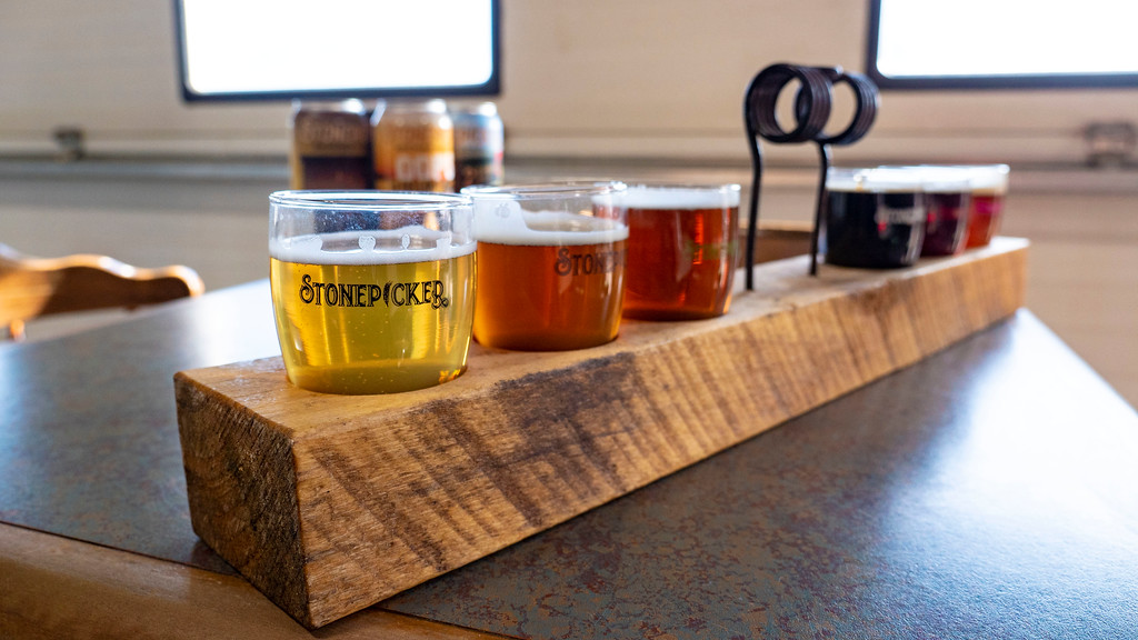Stonepicker Brewing Company near Grand Bend Ontario - Lake Huron - Ontario's Blue Coast in Sarnia Lambton
