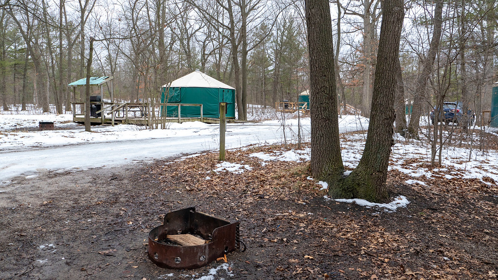 Pinery Provincial Park yurts