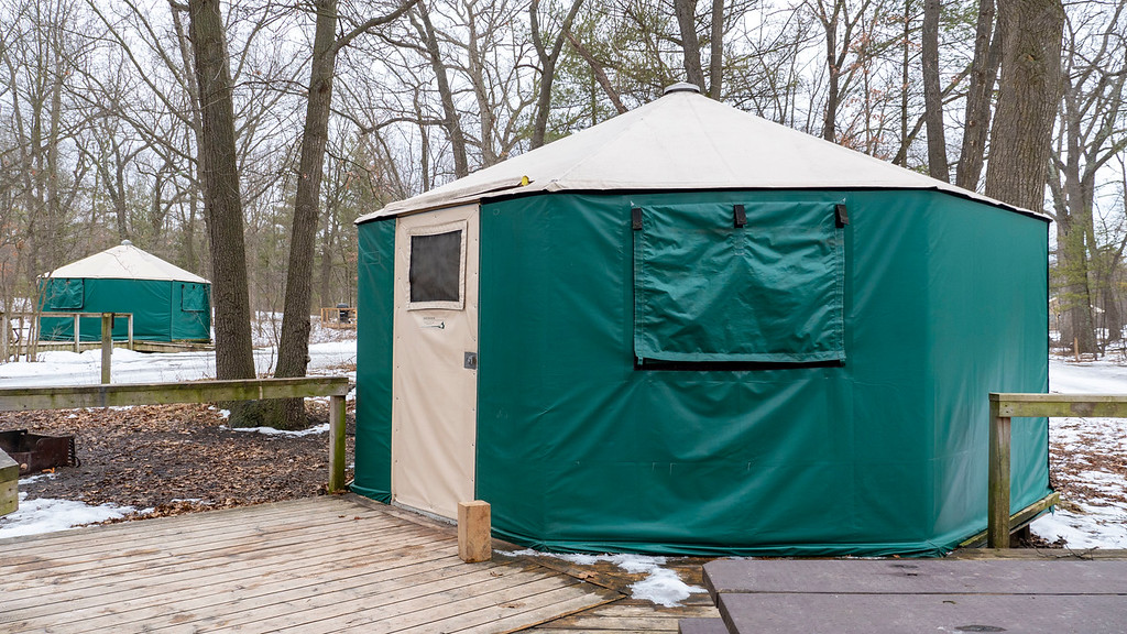 Pinery Provincial Park Yurts - Grand Bend, Ontario