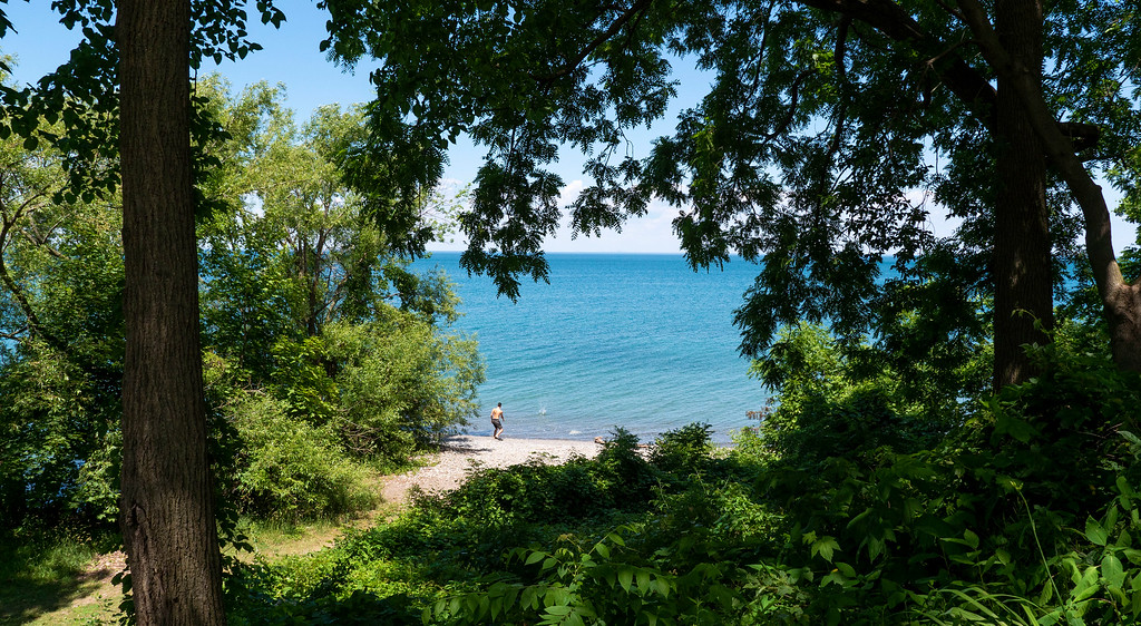 Grimsby Beach Park and Lake Ontario