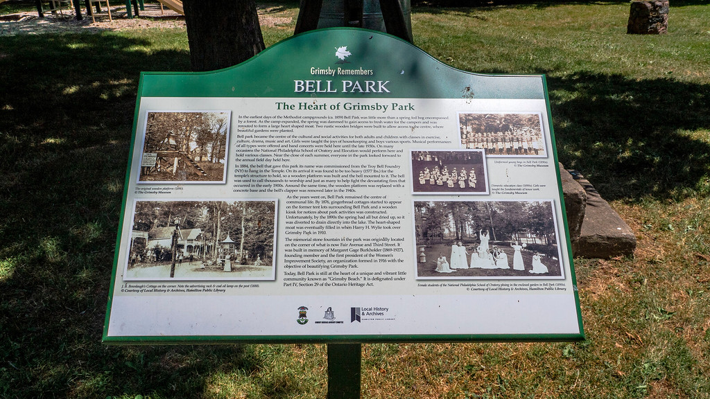 Bell Park in Grimsby Beach, Ontario