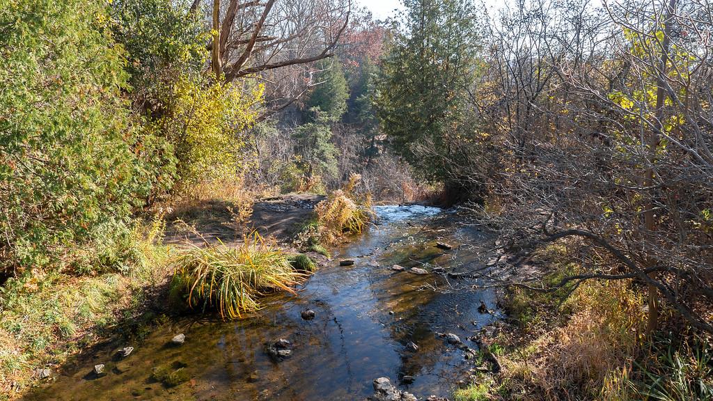 Borer's Creek above Borer's Falls