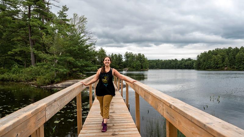 Hardy Lake Provincial Park Boardwalks