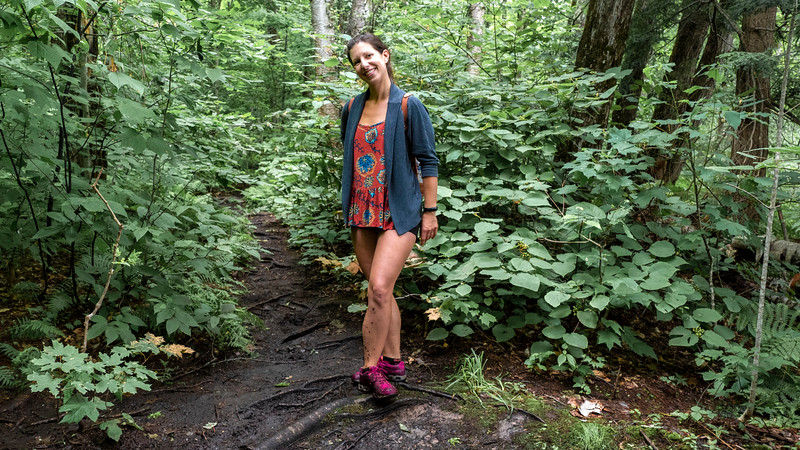 Muddy hikes