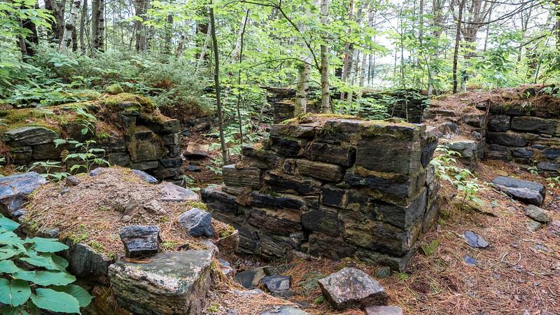 Old pioneer ruins
