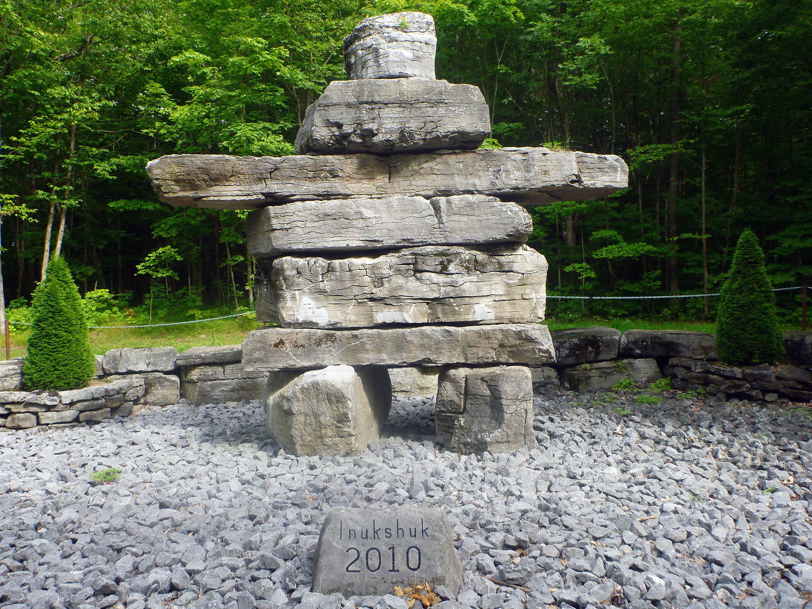 Inukshuk at Hell Hole Trail