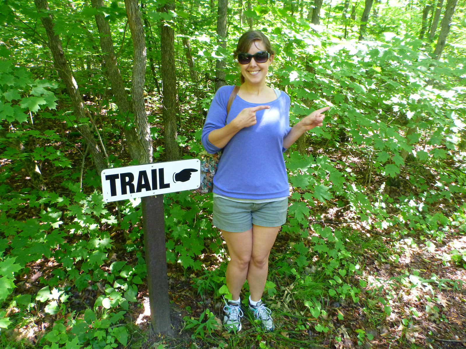 Hell Holes Cave and Nature Trails in Napanee, Ontario