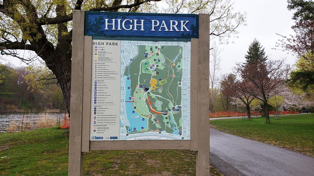Carte High Park