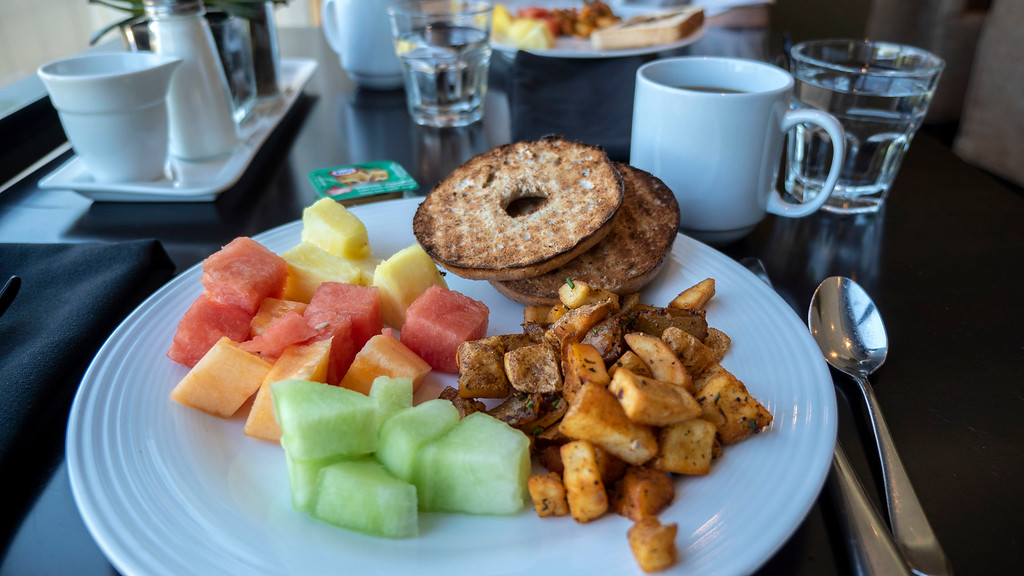 Weekend getaways from Toronto for couples at Hockley Valley Resort - Breakfast buffet (vegan)