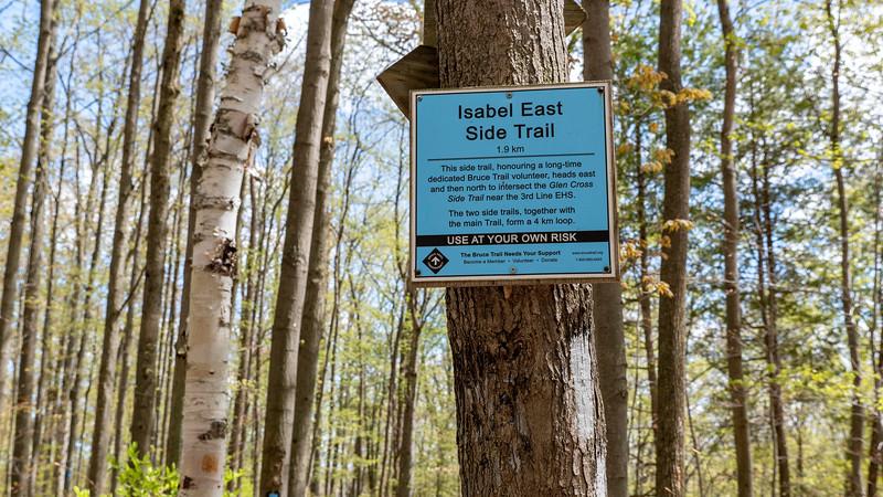 Isabel East Side Trail