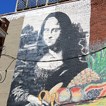 Street Art Mono Lisa – Toronto, Ontario – Daily Photo