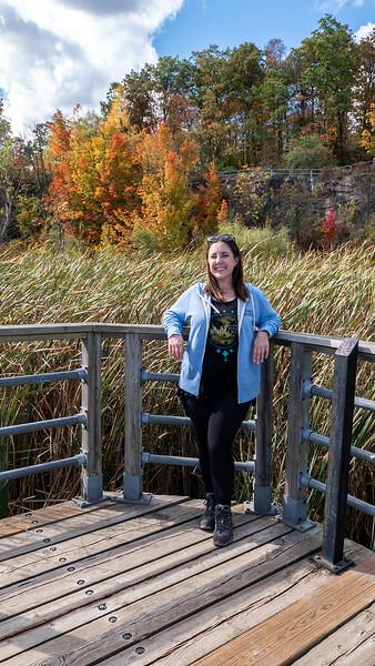 Lauren of Ontario Hiking in Burlington