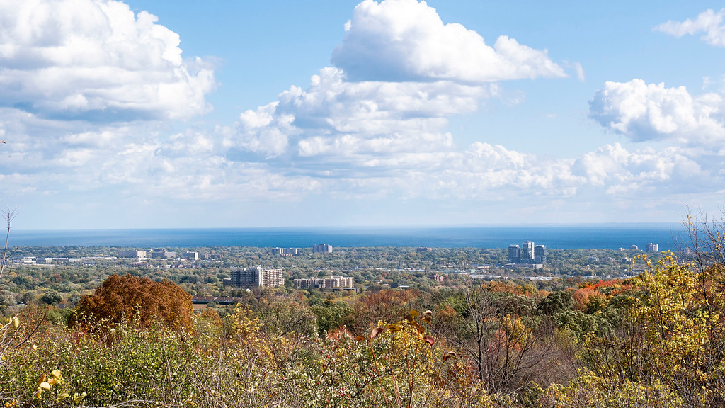Views of Burlington from the Bruce Trail