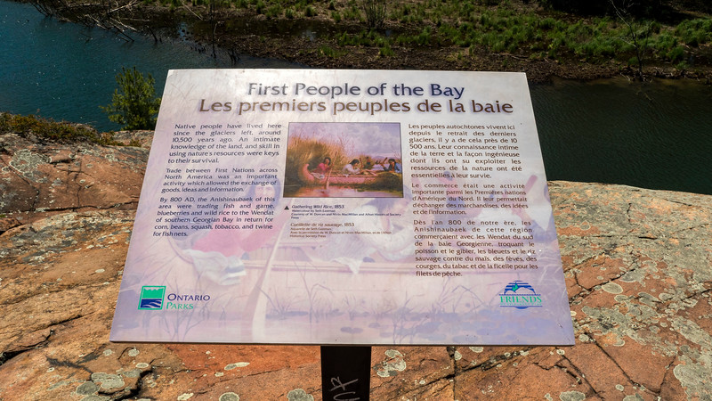 First People of the Bay interpretive plaque