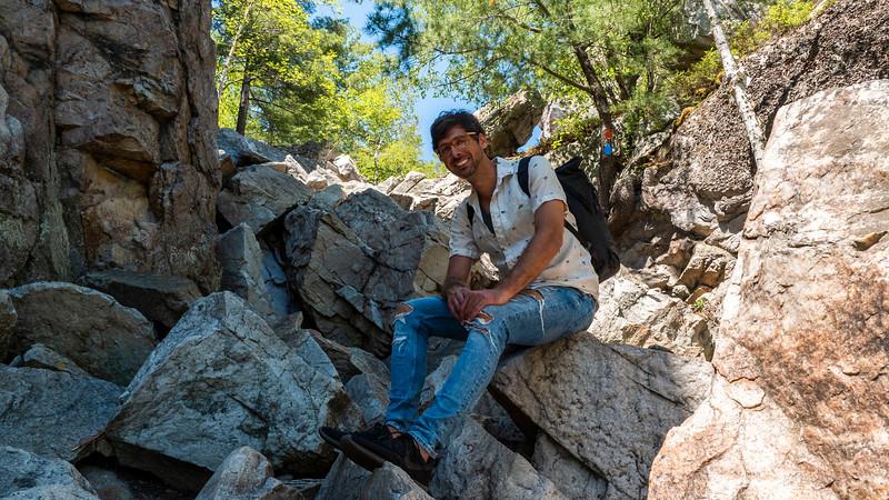 Hiking the Crack in Killarney Provincial Park