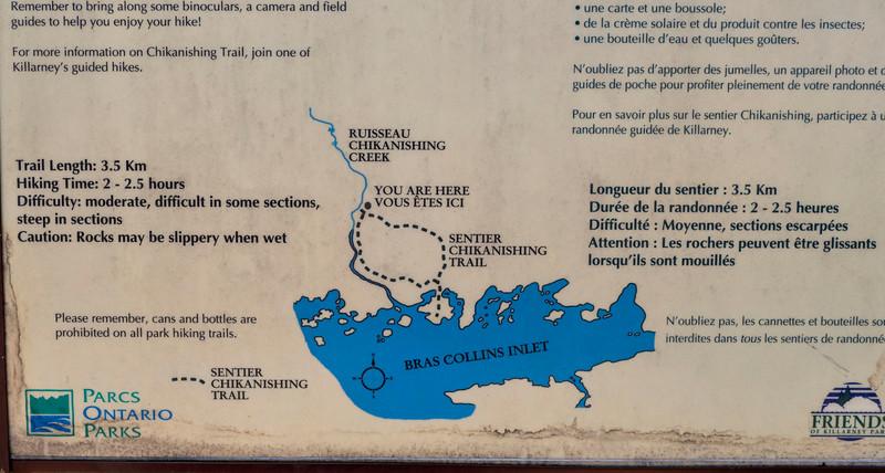 Chikanishing Trail Map