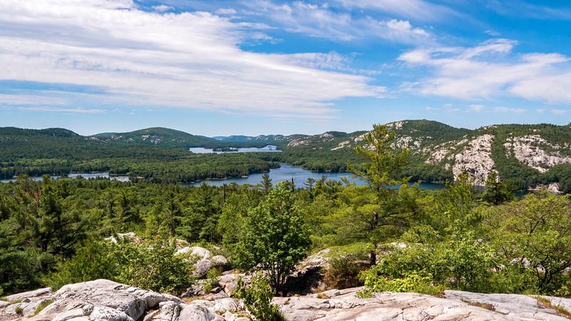 Views from the Killarney Ridge