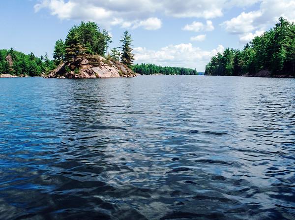 Lake in Killarney Provincial Park, Ontario, Canada
