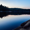 End of day in Killarney Provincial Park, Ontario