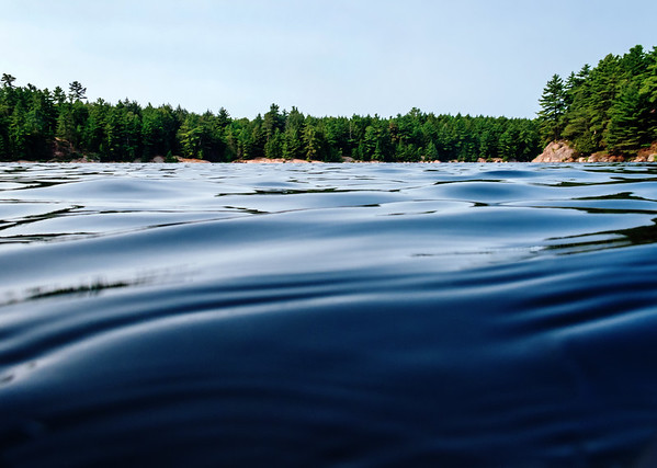 Lake in Killarney Provincial Park, Ontario