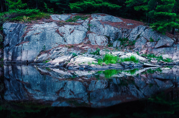 Rock in Killarney Provincial Park, Ontario