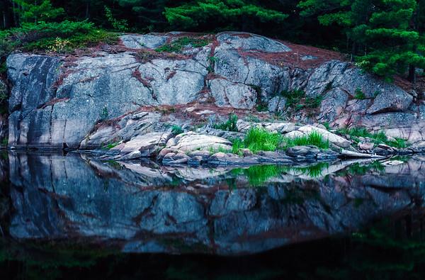 Rock in Killarney Provincial Park, Ontario