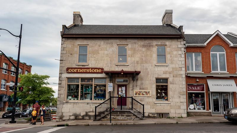 Downtown Kingston shops