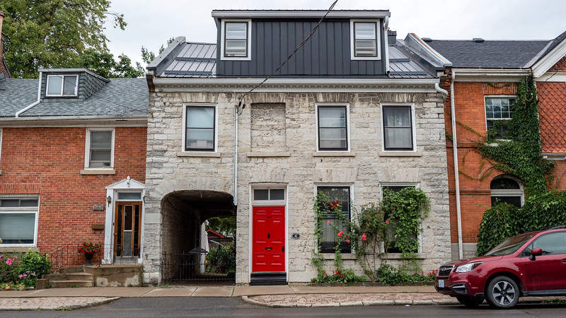 Old Sydenham Heritage Area Kingston Ontario - Cute old houses