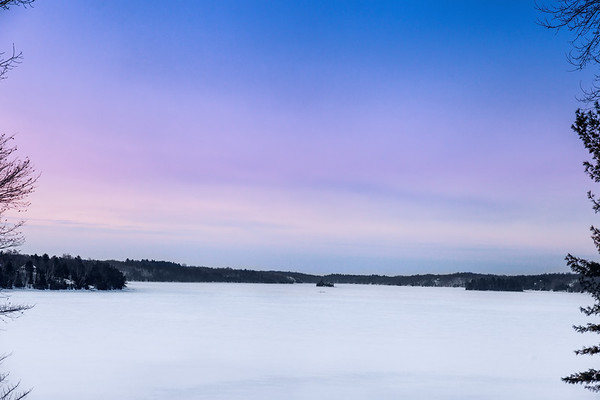 Dawn on Crow Lake, Eastern Ontario