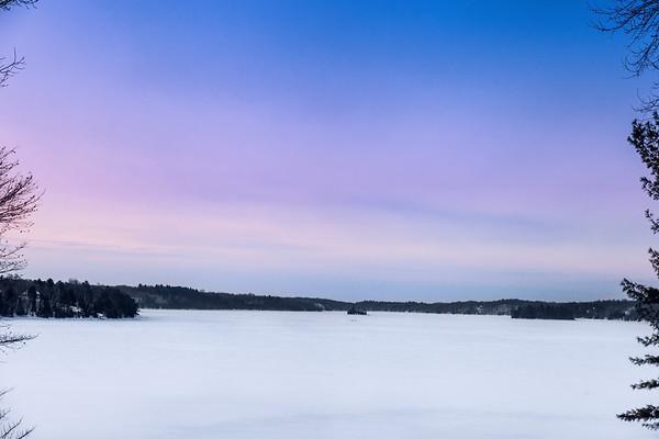 Dawn on Crow Lake, Eastern Ontario