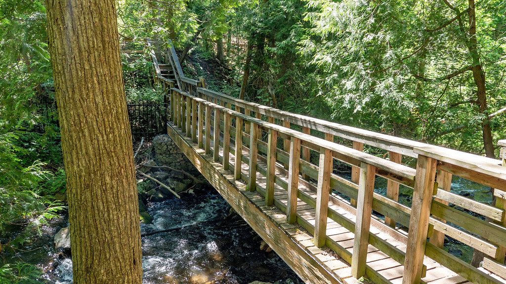 Bridge across Black Creek, Bruce Trail