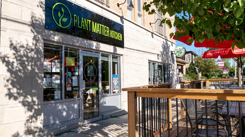 Vegan Restaurants in London Ontario: Plant Matter Kitchen